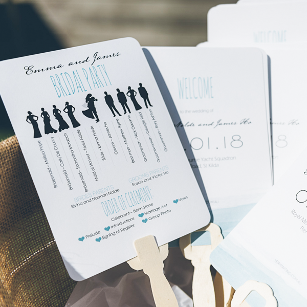 Order wedding ceremony cards online